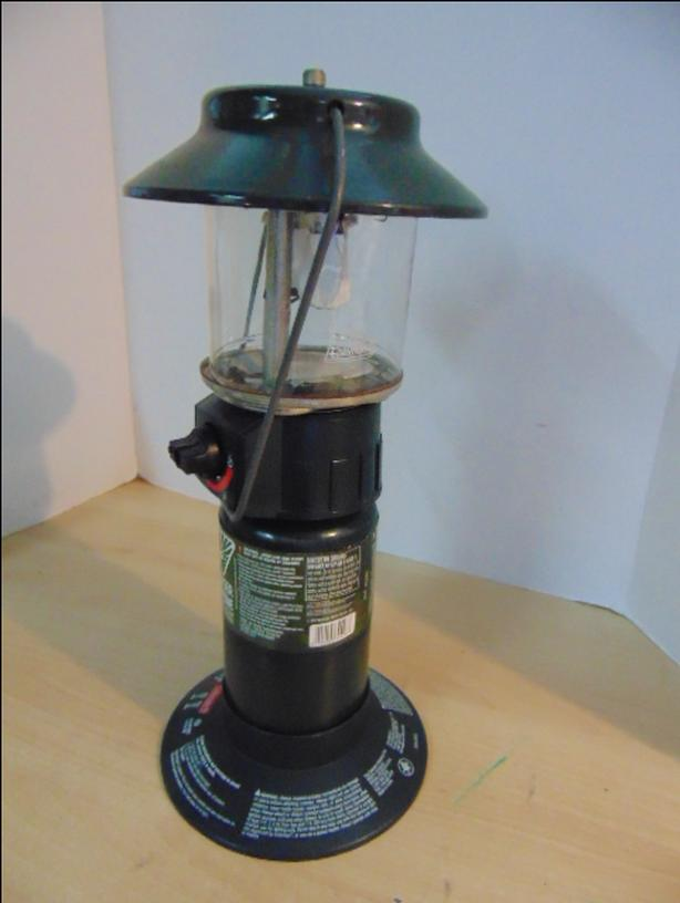 $25 · Camping Adventures Coleman Propane Lantern With Fule Could Use New  Mantles