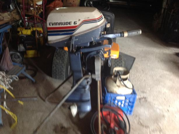  Log In needed $550 · 6hp Evinrude outboard boat motors
