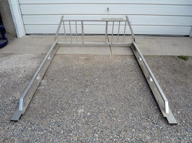 ALUMINUM HEADACHE / LADDER RACK WITH RAILS