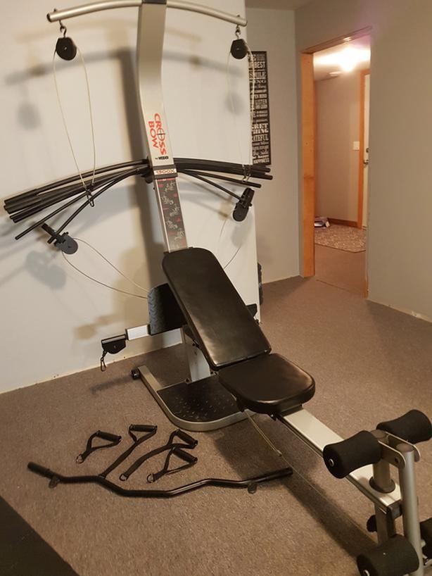 Weider cross bow home gym north nanaimo nanaimo