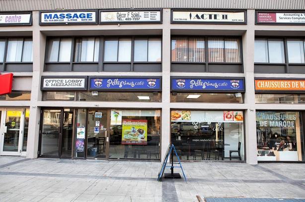 Pellegrinos Café-Sandwicherie restaurant Cote-des-Neiges for sale