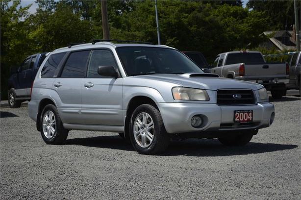 2004 Subaru Forester Xt Wleather Black Creek Comox Valley