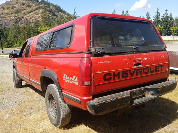 1998 Chevy Silverado 2500 Diesel 4x4 Outside Nanaimo Nanaimo