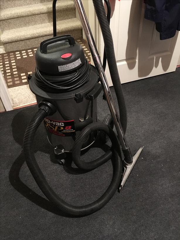 Stainless steel shop vac . $50 obo