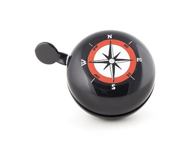 KIKKERLAND Dring Dring Bike Bell - Large - Compass