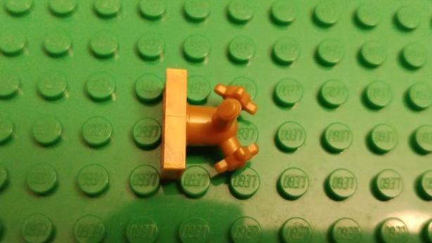 Golden Lego Faucet