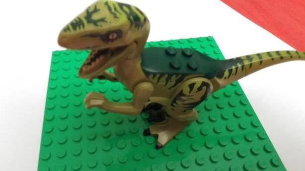 LEGO Charlie jurrasic world
