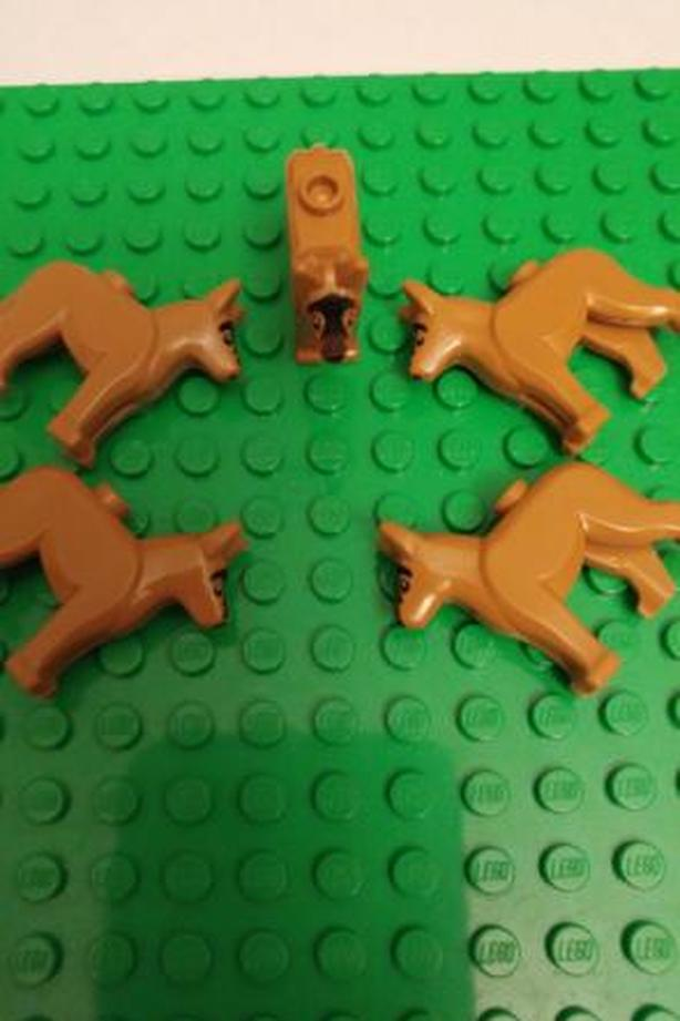 Lego German Shepherds