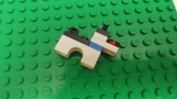 Lego Dog.