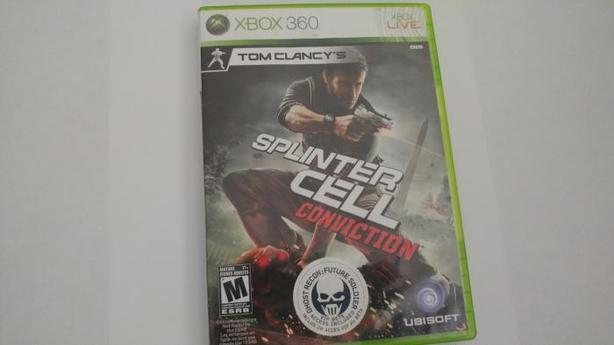 Sprinter Cell Conviction Xbox 360.
