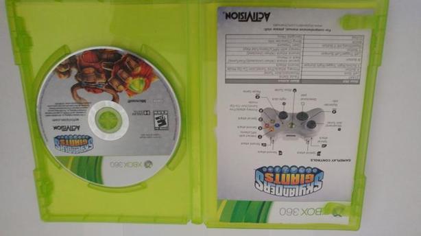 Skylanders Giants Xbox 360.