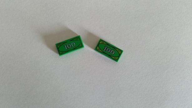 LEGO 100$ bills.