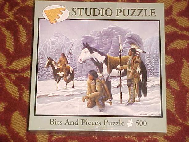 PAINTED JOURNEY JIGSAW PUZZLE