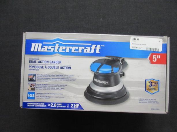 Mastercraft Dual-Action Air Sander  ***MONEY MAXX***