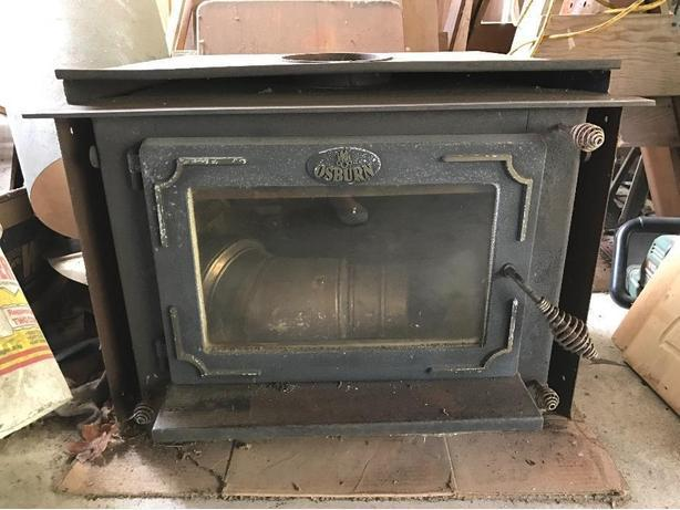 Wood Burning Fireplace Insert For Your Cabin Workshop Or