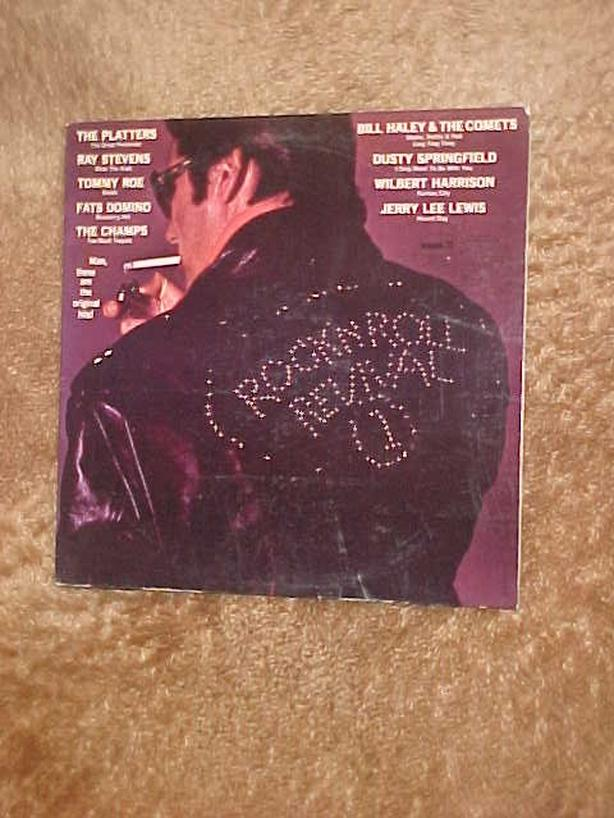 ROCK N ROLL REVIVAL VINYL LP