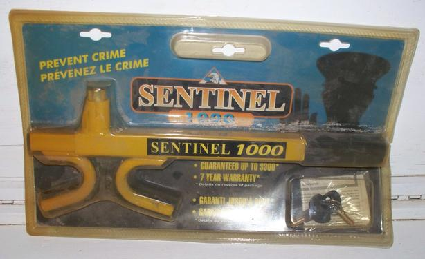 Sentinel Steering Wheel Locking Club