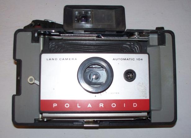 Vintage Polaroid Land Camera Model 104