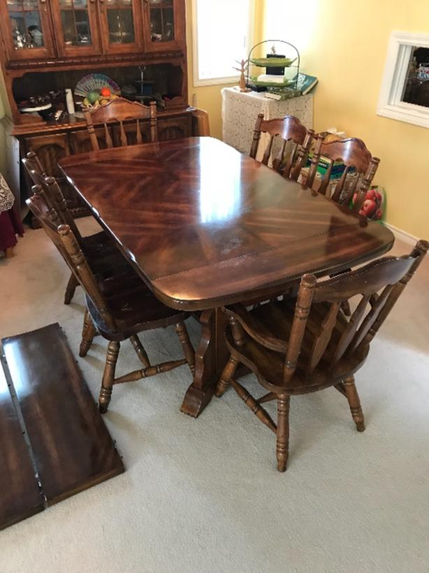Solid Wood Dining Table Surrey Incl White Rock Surrey