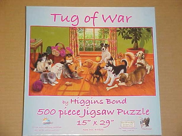 TUG OF WAR JIGSAW PUZZLE