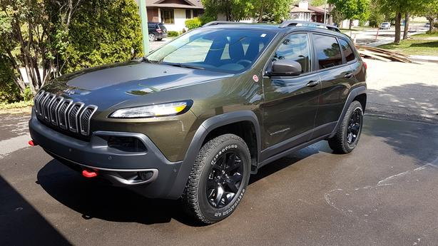 2015 Jeep Cherokee Trailhawk Edition