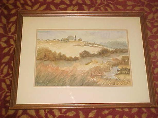 COUNTRYSIDE WATERCOLOR