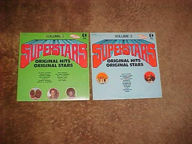 SUPERSTARS VOL 1 & 2 LP