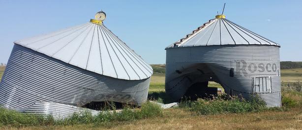 WANTED: Grain Bin - Damaged or Old/Unused