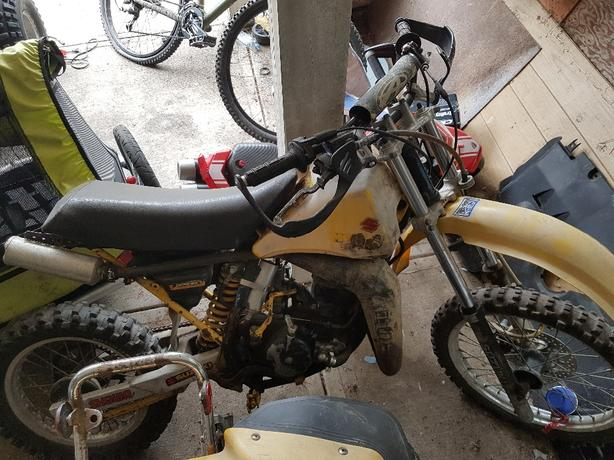 Log In needed $300 · 1984 Suzuki rm 80 2 stroke