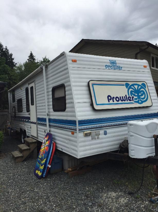 1995 Fleetwood Prowler Travel Trailer West Shore: Langford