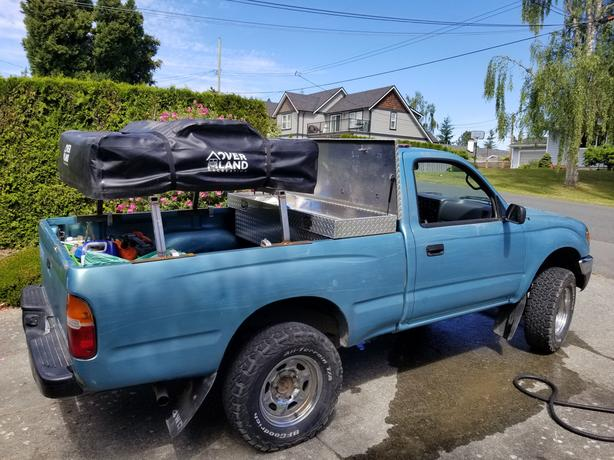  Log In needed $7,500 · 1995 Toyota Tacoma with Roof Top Tent