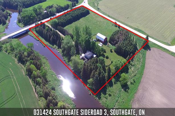 **SOLD** 031424 Southgate Sideroad 3 Southgate Real Estate MLS Listing