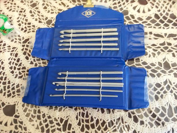 Set of Chrochet Needles in Carrying Case