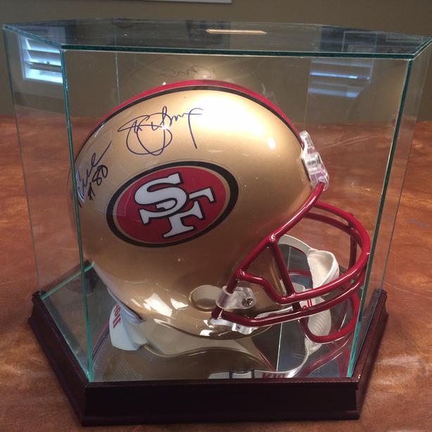 San Francisco 49ers Autographed Helmet