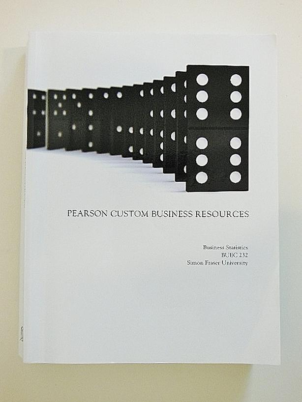 SFU BUEC232 Textbook