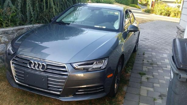 Audi Beautiful A4 2017 Fully Loaded