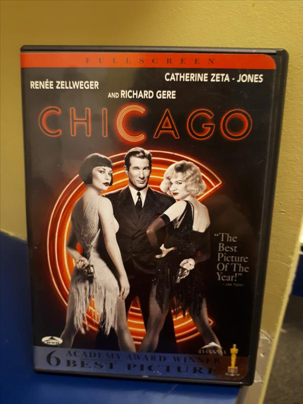 6 Academy Award Winner Including Best Picture CHICAGO DVD