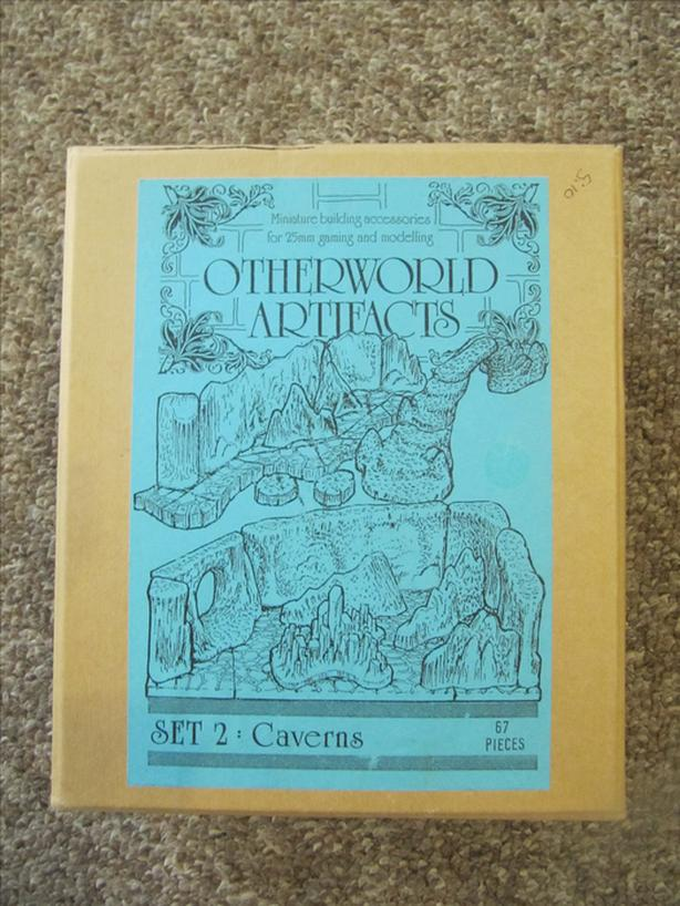 1980's Otherworld Artifacts RPG Miniatures Building Accessories.