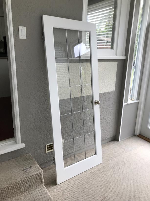 2 BEAUTIFUL MATCHING INTERIOR FRENCH DOORS
