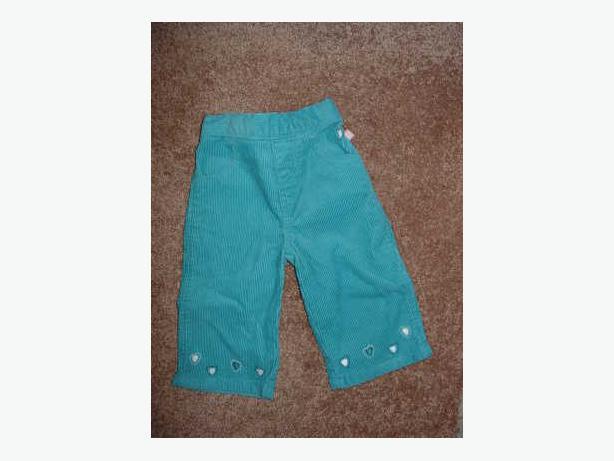 Corduroy Pants - Size 6 Months
