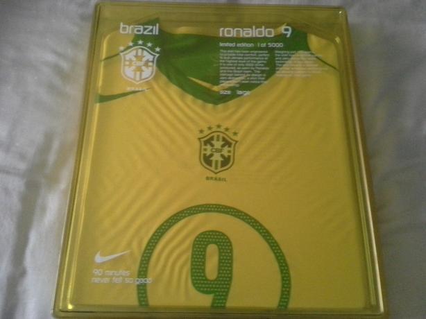 finest selection 78ef3 3101b Brasil Soccer jersey #9 Ronaldo BRAND NEW IN BOX (PRICE IS ...