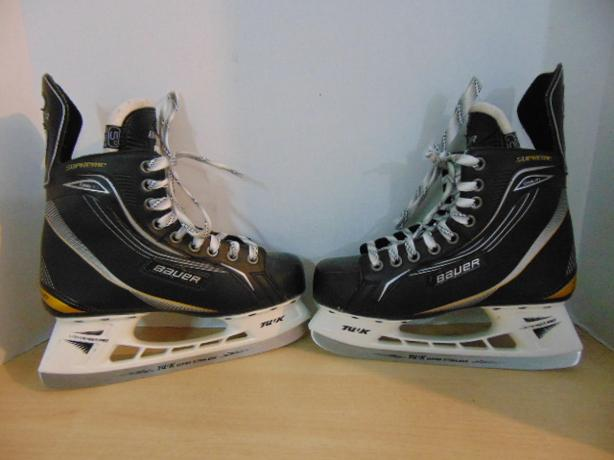 Hockey Skates Child Size 6 Youth Shoe Bauer Supreme One 40 Excellent