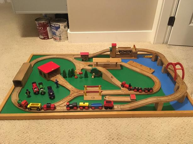 Log In Needed 100 Brio Wooden Train Table Accessories