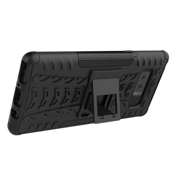 Dual Layer Shockproof Rugged Heavy Duty Stand Case for Samsung Note 8
