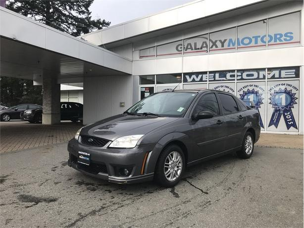 Galaxy Motors Courtenay >> 2007 Ford Focus ZX4 SE - Heated Front Seats, CD Player ...