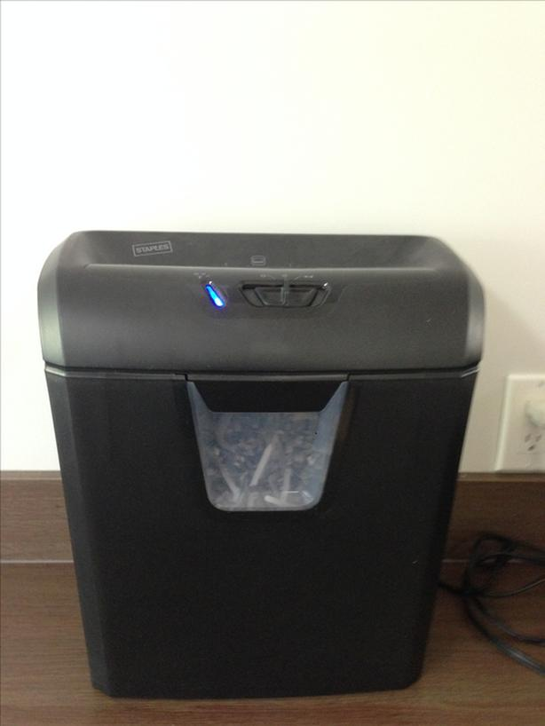 OBO Cross Cut Paper Shredder