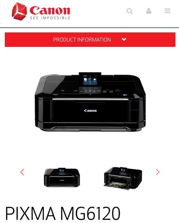 Cannon Pixma MG6120 multifunction Printer