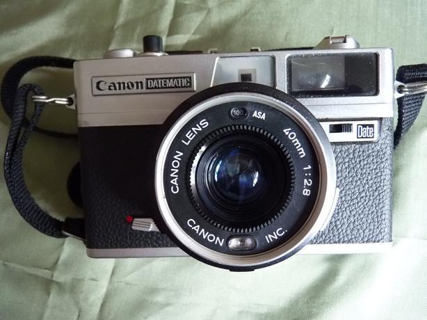Canon Datematic rangefinder 35mm film camera