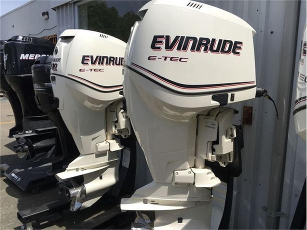 2013 Evinrude Twin E- TECH 200HP HO