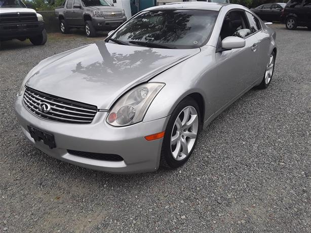 2003 Infiniti G35 6 Cyl Rwd With Only 243k Km 39 S Very Clean